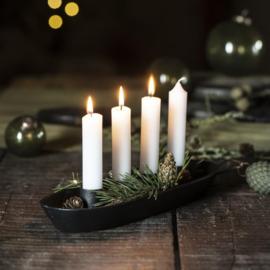Advent Kandelaar voor 4 Kaarsen Ø:2,2 cm | Zwart | IB Laursen