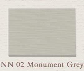 NN 02 Monument Grey | Eggshell | Zijdemat Krijtlak | 750 ml
