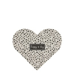 Notitieboekje Hart | Dots | Happy Day | Bastion Collections