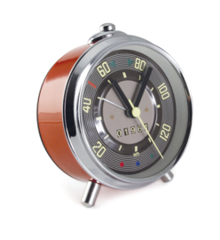 VW T1 Bus | Speedometer Clock/Wekker | Rood | In Giftbox