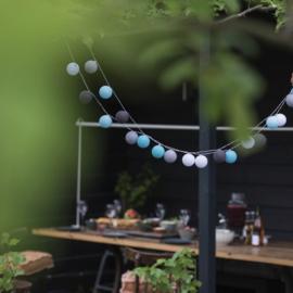 Outdoor Lichtslinger | Turquoise | Lubanida