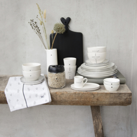 Kom   Morning   Wit/Zwart   Bastion Collections