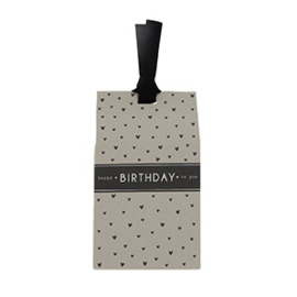 Gift Bag met Pepermunt Hartjes |  Birthday | Bastion Collections