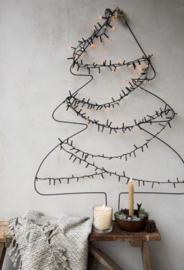Kerstboom Draad Zwart   Medium 60x45 cm   Bastion Collections