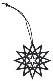 Ster Papier Zwart | 7 cm | IB Laursen