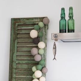 Cotton Ball Lights | Premium | Urban Greens | 20 | Uitverkocht
