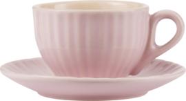 Espresso Kop & Schotel Roze IB Laursen | Uitverkocht