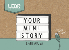 Lichtbox | Mini A6 | USB | Zwart