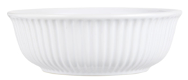 Bowl Mynte | Pure White | Large Ø:23,5 cm | IB Laursen