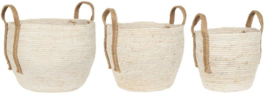 Basket Set | 3 Stuks | Naturel Off White