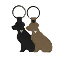 Sleutelhanger DOG | Taupe | Bastion Collections
