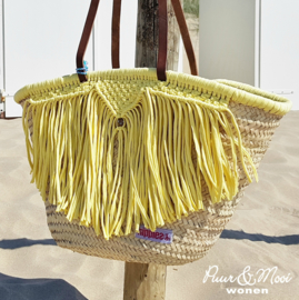 Ibiza Strandtas | Macrame | Yellow | Hippies