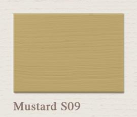 S09 Mustard | Eggshell Zijdemat Krijtlak | 750 ml