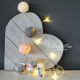 Lichtsnoer | 10 LED | in Lus voor CBL | Batterijen