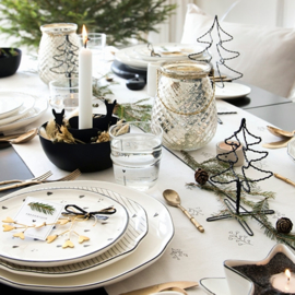 Kerstboom Draad Zwart | Large 20 cm | Bastion Collections