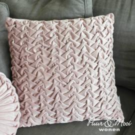 Kussen Velvet Pink | 45 x 45
