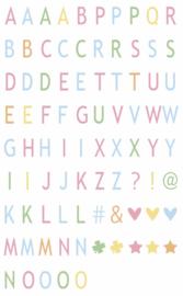 Letter & Symbolen Set | Pastel | A3, A4, A5 Lichtbox