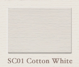 SC 01 Cotton White | Matt Emulsion | 2,5 ltr