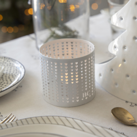 Tealight Winter Hearts | Small | Bastion Collections