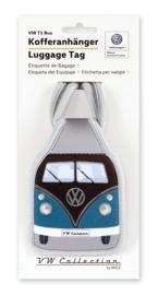 VW T1 Bus | Bagage Label | Petrol/Brown