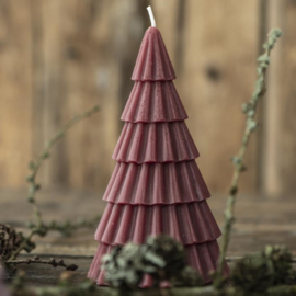 Kaars Kerstboom Bordeau | Large 15x Ø:8,6 | IB Laursen
