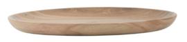 Bord | Dienblaadje | Acacia Wood | Ø:25 | Ib Laursen