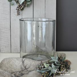 Windlicht Dik Handgeblazen Glas | M 16 x 15 | IB Laursen | Tijdelijk Uitverkocht