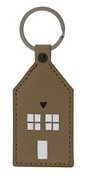 Sleutelhanger Huis | Taupe | Bastion Collections