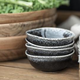 Bowl Antique Black Dunes | Mini | Ø:9,3 cm | IB Laursen