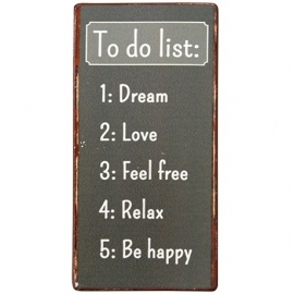 "Magneet ""To do List"""