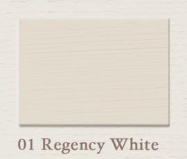 01 Regency White | Eggshell | Zijdemat Krijtlak | 750 ml