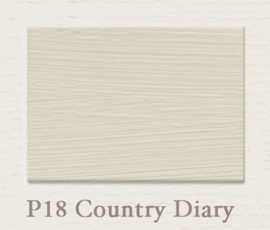 P18 Country Diary | Eggshell Zijdemat Krijtlak | 750 ml