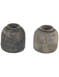 Nepalees Mini Potje   Grey Wash