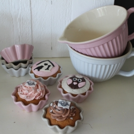 Cupcake Kom   Puur Wit   Ib Laursen