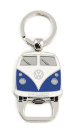 VW Campervan Sleutelhanger & Flesopener | Blauw