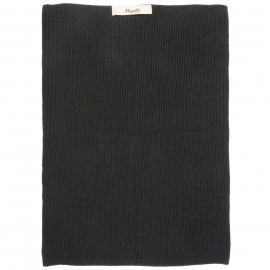 Keuken Handdoek | Zwart |  Gebreid | Ib Laursen