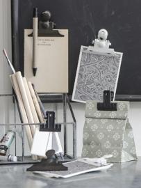 PapierKlem | Grijs/Zwart | Ib Laursen