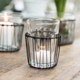 Draadmandhouder & Cafe Glas | Ib Laursen