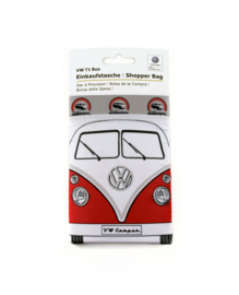 VW T1 Bus | Shopper Bag  | Logo Grijs