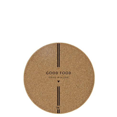 Onderzetter Good Food | Ø:18 cm | Bastion Collection