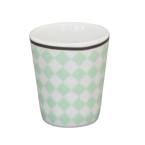 Eierdop Harlequin Mint