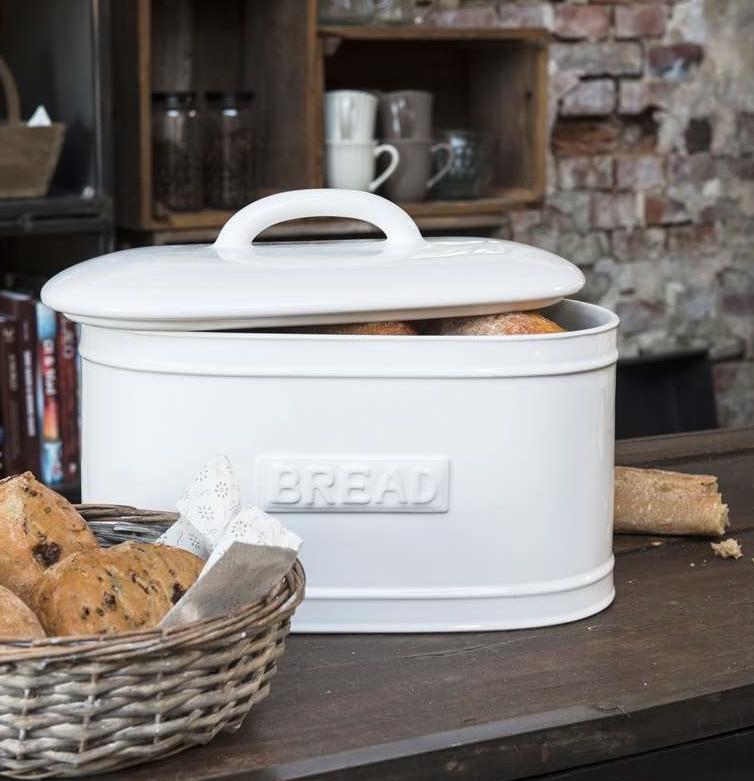 Broodtrommel Ovaal | Puur Wit | IB Laursen
