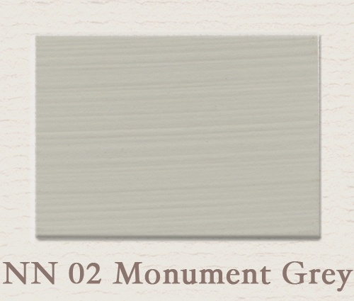 NN 02 Monument Grey | Matt Emulsion | 2,5 ltr