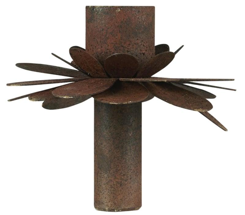 Candle Holder Flower Roest   Voor Dinerkaarsje Ø:2,2 cm   IB Laursen
