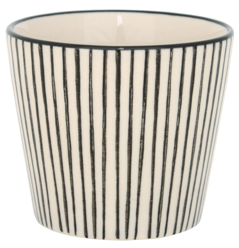 Mok Casablanca | Stripes Verticaal | Zwart