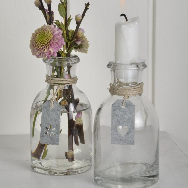 Glazen Vaasje   Kandelaar   IB Laursen   Uitverkocht