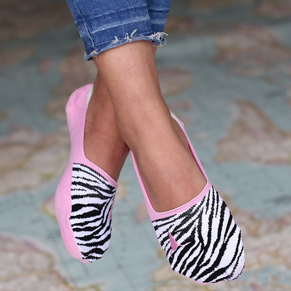 Sneakersokken   Zebra   Love Ibiza