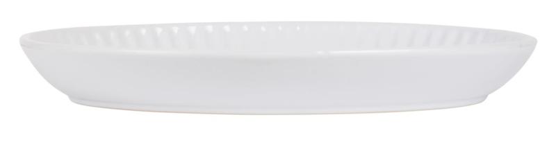 Schaal Ovaal   30 x 22 cm   Pure White   IB Laursen