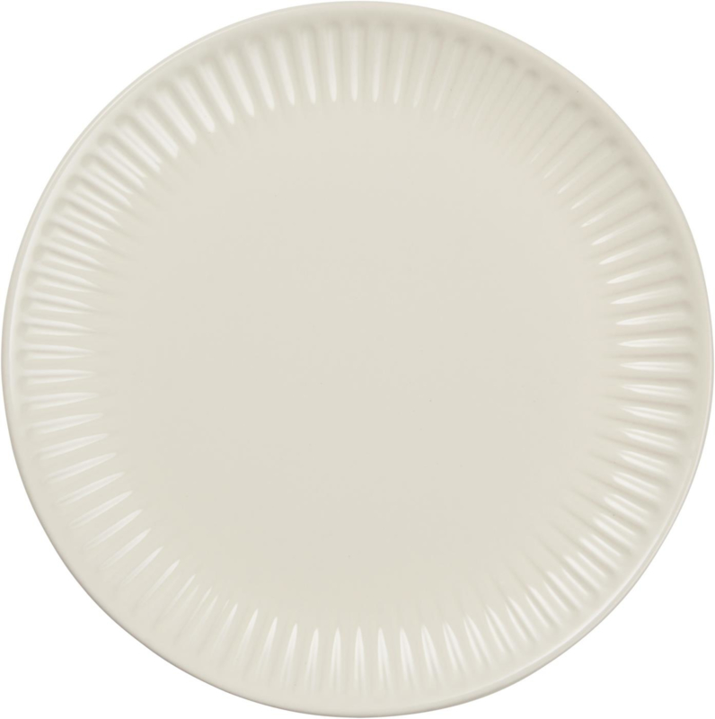 Lunch Plate | Butter Cream | IB Laursen
