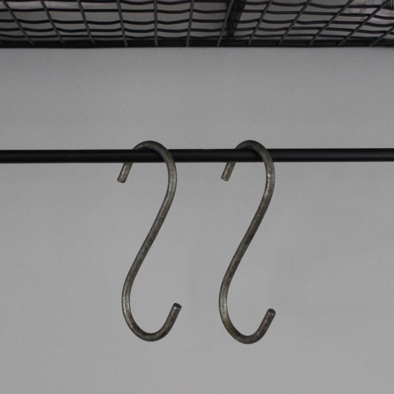 Super S-Haak | Metaal | 7,5 cm | Ib Laursen | Kapstokken | Haken IQ-65